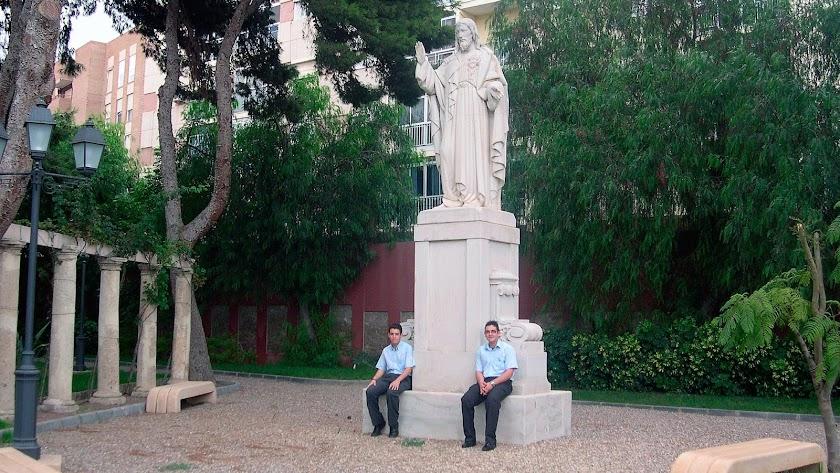 El espléndido jardín del Seminario en octubre de 2007, cuando el centro contaba con treinta y cinco alumnos.