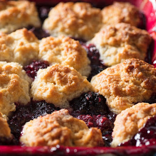 Old-Fashioned Blackberry Cobbler Recipe