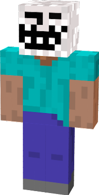 This skin from an antvenom video called 10 MINECRAFT CANCELLED / REMOVED Features & Updates!