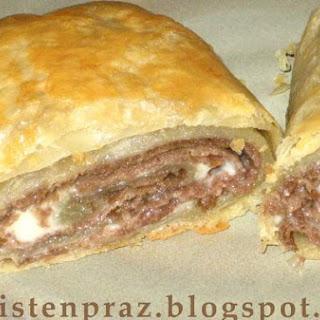 Steak-Umm Stromboli.
