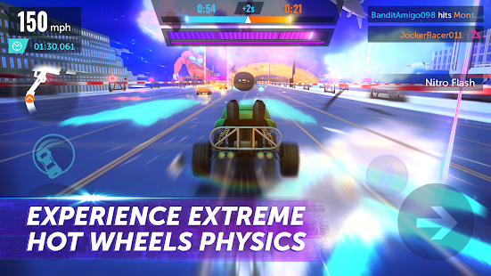 Hot Wheels Infinite Loop Screenshot