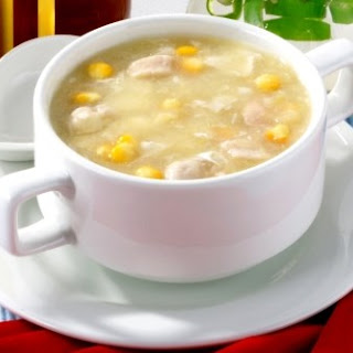 Weight Watchers Creamy Chicken & Sweetcorn Soup
