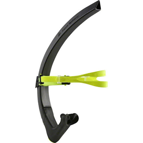 Michael Phelps Focus Swim Training Snorkel: Black/Neon