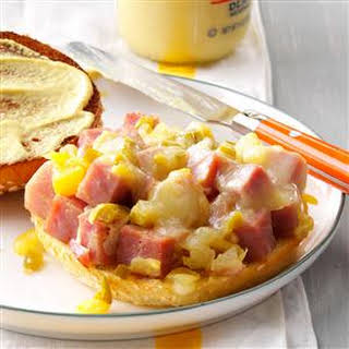 Pineapple-Dijon Ham Sandwiches.