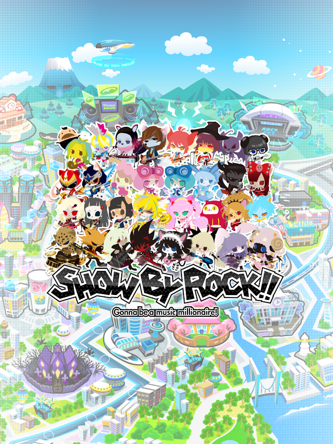 SHOW BY ROCK!![爽快音ゲー ショウバイロック]- screenshot