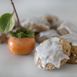 Persimmon Spice Cookies.