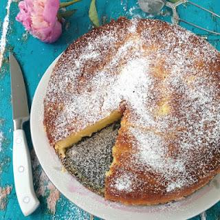 Orange Cranberry Ricotta Cake
