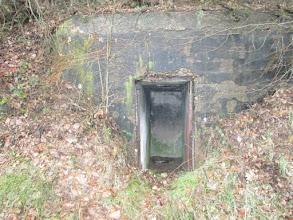 Photo: abri téléphonique de la Ligne Maginot