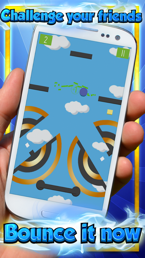 Bounce Ball – Pogo Craze Mania- screenshot