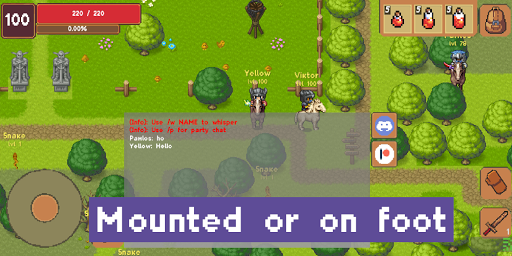 Sword of Legacy MMORPG 2D 0.2.0 screenshots 4