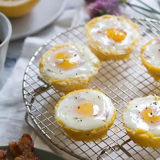 Spaghetti Squash Egg Baskets.