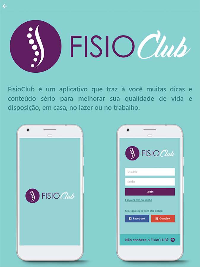 FISIOClub- screenshot