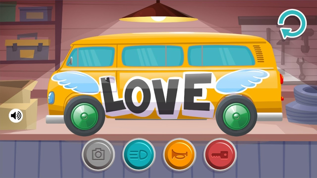 - Download Kids Build Color And Design- Cars , Truck, Buses For