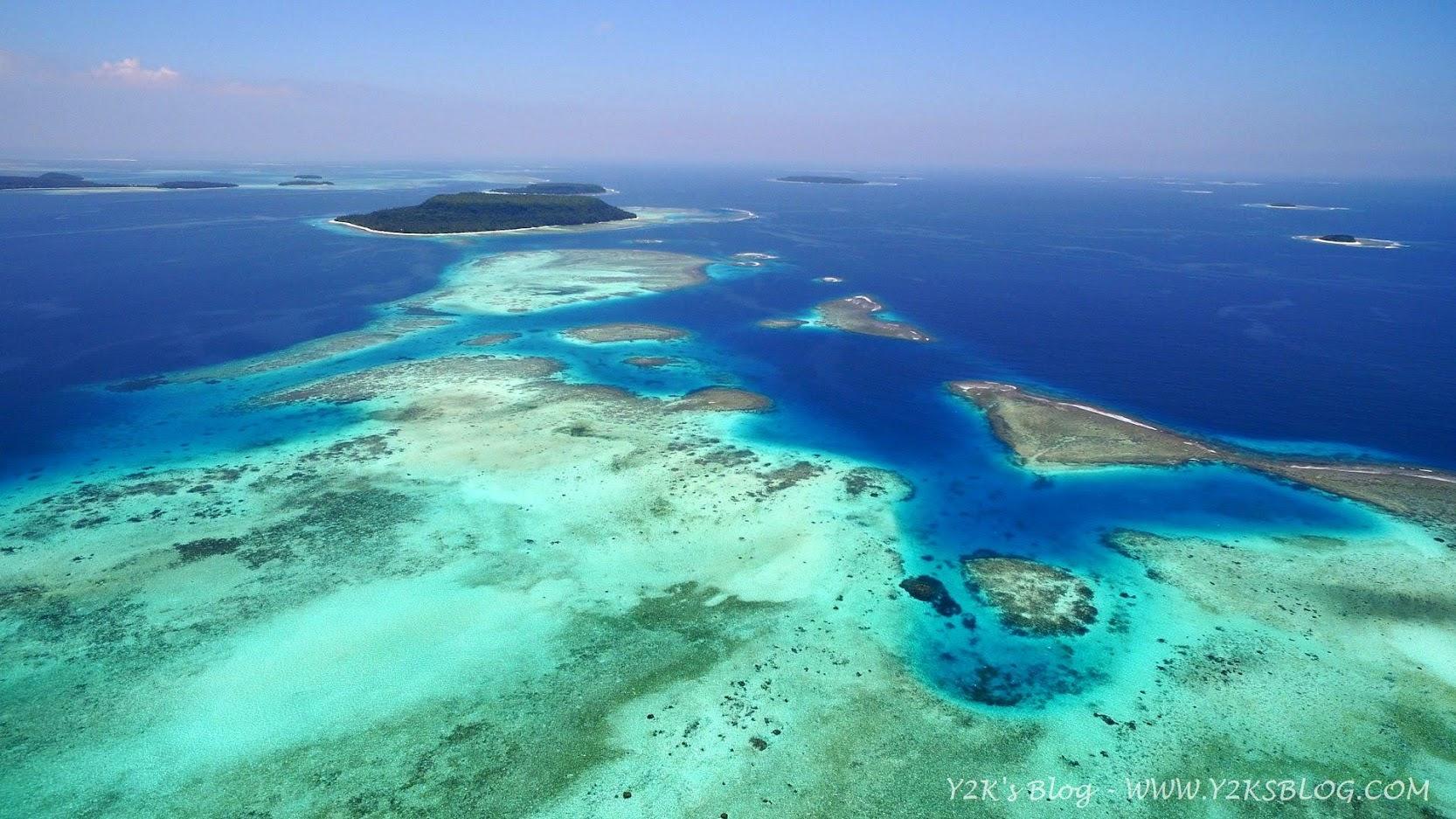 Il reef a Est di Mounu Island - Vava'u