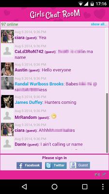 Girls Chat Room - screenshot