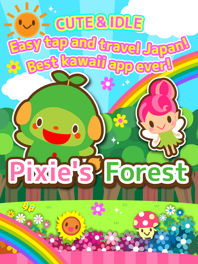 Pixie's Forest idle clicker- screenshot