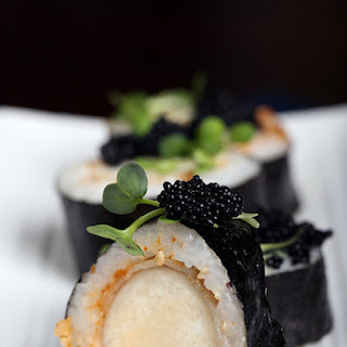 SPICY VEGAN SCALLOP ROLL