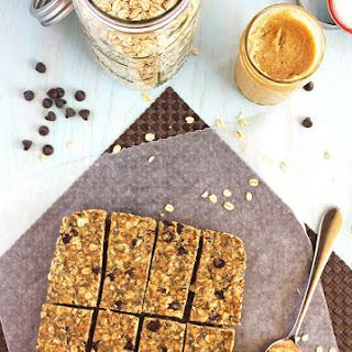 Peanut Butter Chia Granola Bars.