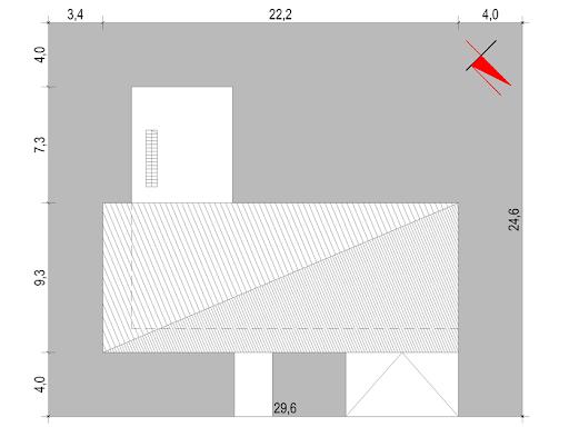 House X07 - Sytuacja