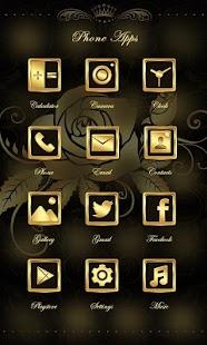 2 Dear Rose Theme-ZERO Launcher App screenshot