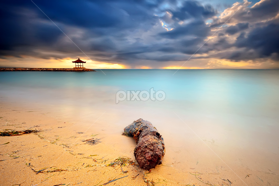 Scape by Hendri Suhandi - Landscapes Beaches ( bali, indonesia, sanur, sunrise, beach, travel )