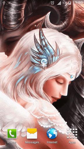 天使と悪魔ライブ壁紙