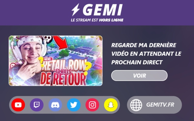 GEMI Live Extension