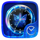Butterfly GO Clock Theme