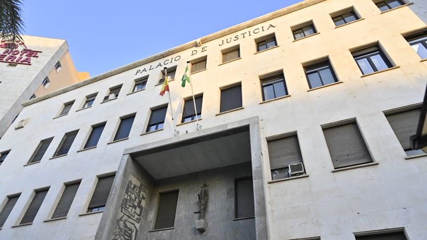 Palacio de Justicia, sede de la Fiscalía Provincial de Almería
