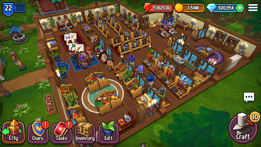 Shop Titans: Epic Idle Crafter, Build & Trade RPG modavailable screenshots 18