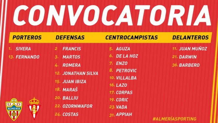 La lista de Mario Silva.