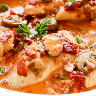 Chicken Sun Dried Tomatoes Mushrooms Recipes