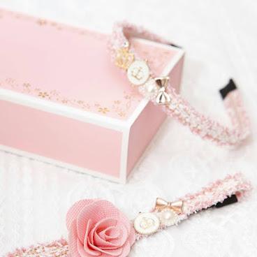 新款出爐喇📣📣粉紅金色織帶親子裝,媽媽款低調的簡約高貴,bb款高貴又cutie,好靚呀😍😍😍😍 一條$98 一set$176