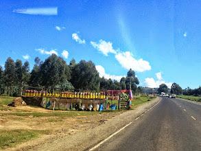Photo: Open market on our way to Nairobi