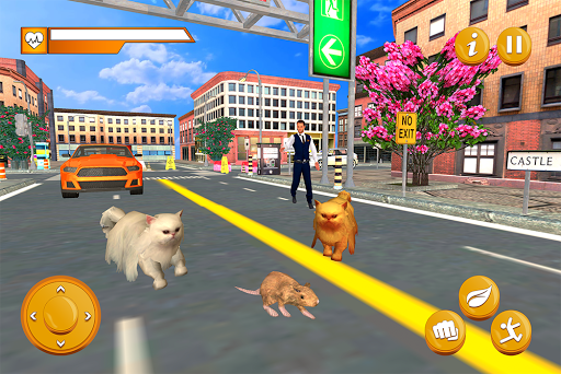Stray Mouse Family Simulator: City Mice Survival  screenshots 11