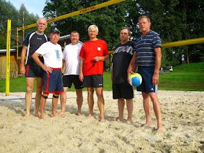"""Photo: die """"Beach-Boys"""": v.l.: Klaus S., Peter, Dago, Dieter, Thomas und Klaus K."""