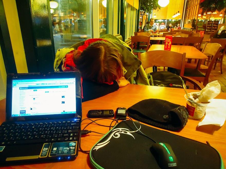 Кафе возле аэропорта в г. Тампере