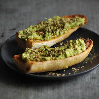 Yuzu-Ginger Avocado Toast