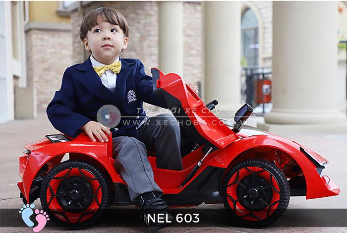 xe ô tô điện trẻ em Lamborghini NEL-603 3