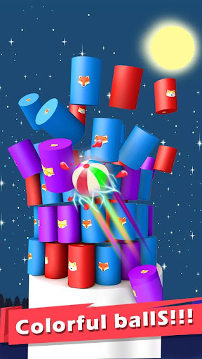 Color Ball 3D - Shoot & Hit Down captures d'u00e9cran 1