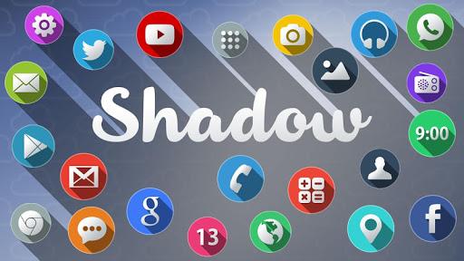 Shadow Mega Launcher Theme