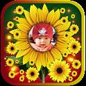 Sunflower photo frames icon