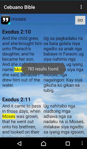 Cebuano King James Bible screenshot 4