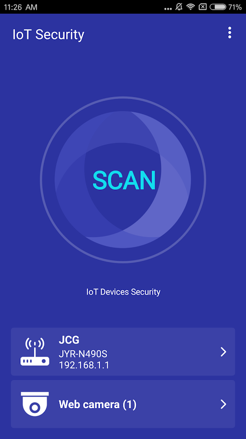 IoT Security (Guard Internet of Things devices)- screenshot