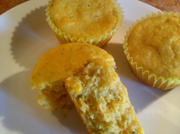 Green Chile Cornbread Muffins Recipe