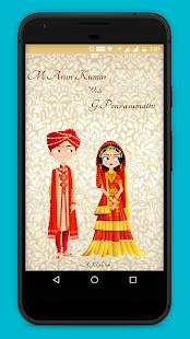 Arun weds Vasumathi - náhled