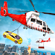 Emergency Helicopter Rescue Transport