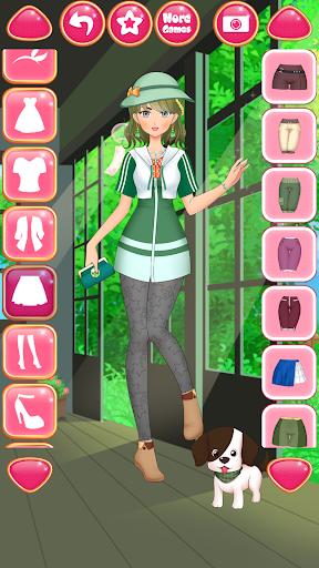 Anime Girls Fashion - Makeup & Dress up apktram screenshots 22