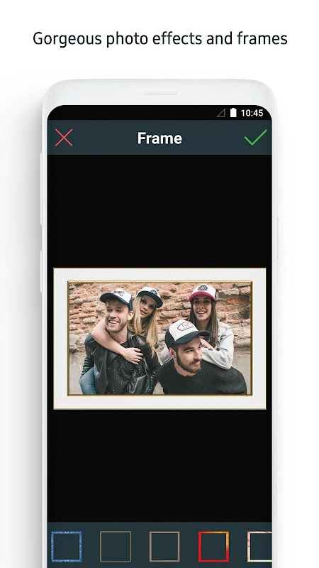 Photo Editor for Android™ screenshots