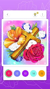 Bible Coloring – Paint by Number, Free Bible Games 4
